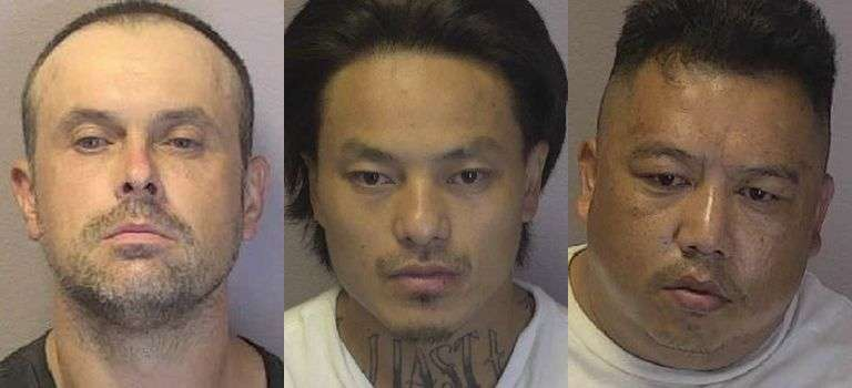 Three S.C. Residents Arrested In Hickory On Felony Drug Charges