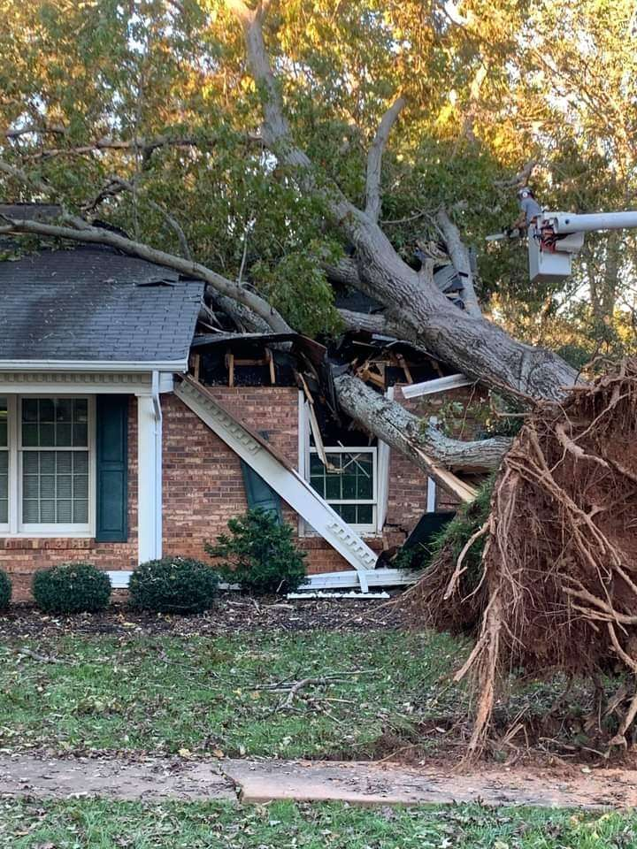 Storm Causes Damage, Power Still Out In Parts Of Hickory Metro, Local School Systems Announce Remote Learning Friday (Updated 4:10 A.m., 10/30/20)