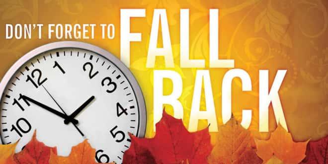 Daylight Saving Time Ends Early Sunday, Set Clocks Back