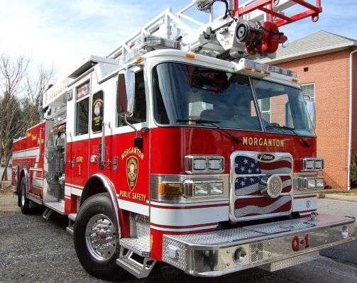 Weekend Fire Damages Morganton Home