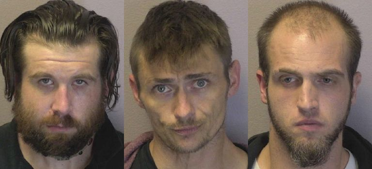 Three Hickory Men Jailed On Felony Drug Charges