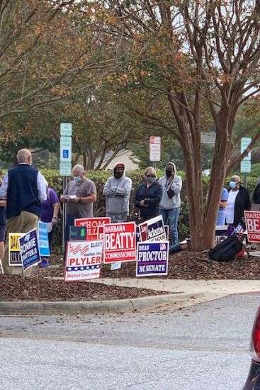 Early Voting Begins Today, Five Locations Open In Catawba County