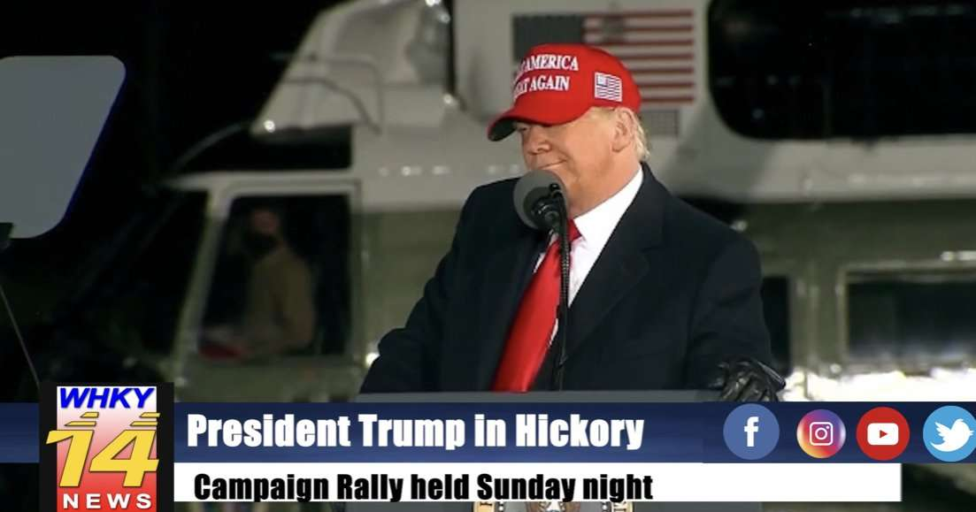 President Trump Visits Hickory