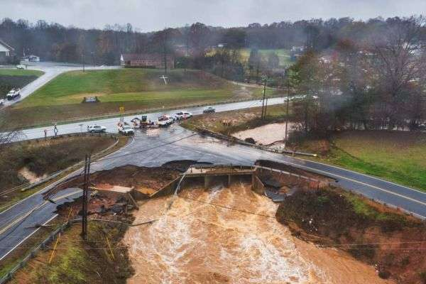 16 Roads Remain Closed In Alexander County