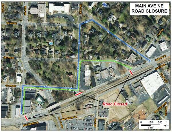 New Road Closure Begins Thursday In Hickory