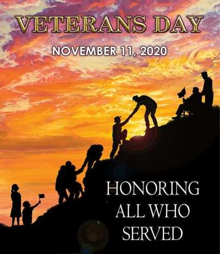 Veterans Day Today Honors Armed Services Members