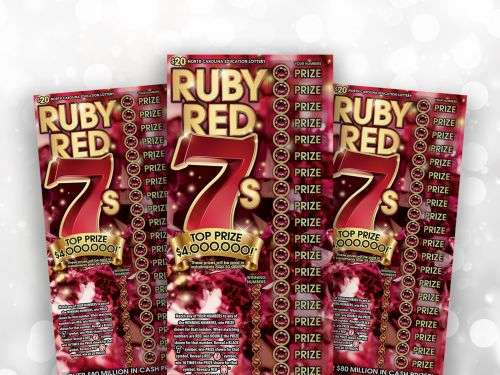 Mooresville Man Wins Top Prize In N.C.E.L.'s Ruby Red 7s Game