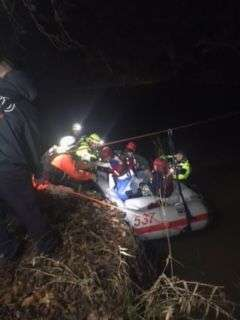 Boys Lost In A Wooded Area Rescued By Officers And Swift Water Team