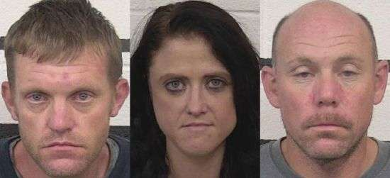 Three Suspects Charged With Meth Trafficking In Caldwell County