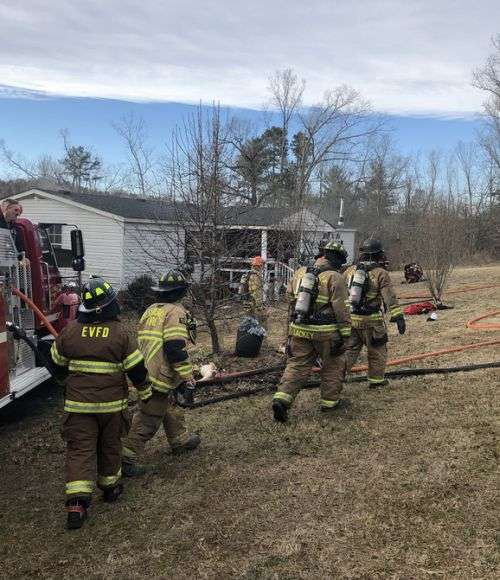 Home Damaged In Alexander County Fire