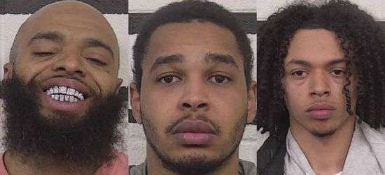 Drug Trafficking Charges Lodged Against Three Suspects Arrested Sunday