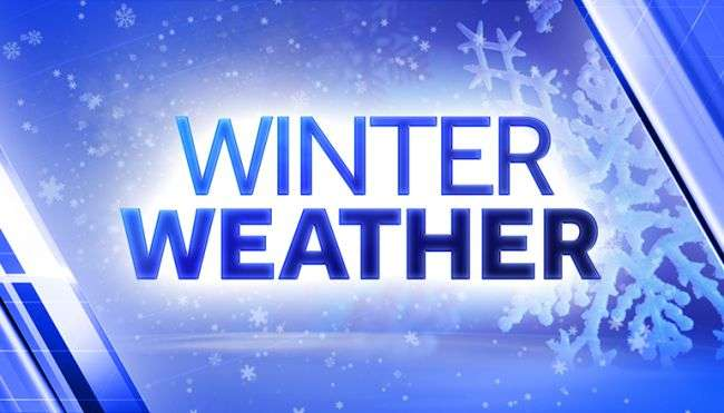 Winter Weather Threat Results In Schedule Changes For Schools, Government