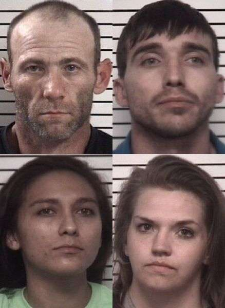 Taylorsville Man Among Four Suspects Arrested On Felony Drug Charges