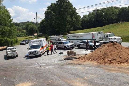 Trench Collapses West Of Taylorsville, Person Killed (Updated With Name Of Victim, 11:05 A.m. 5/20/21)