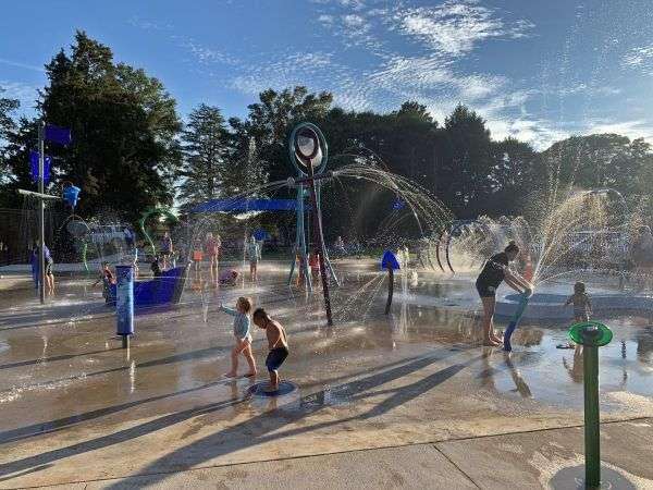 New Splash Zone Open In Newton