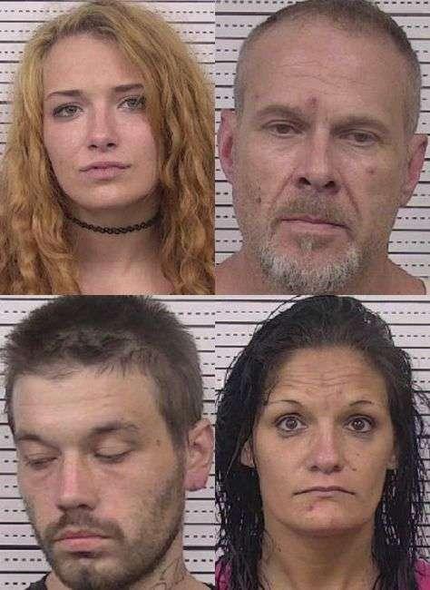 Four Lenoir Residents Arrested On Drug Charges