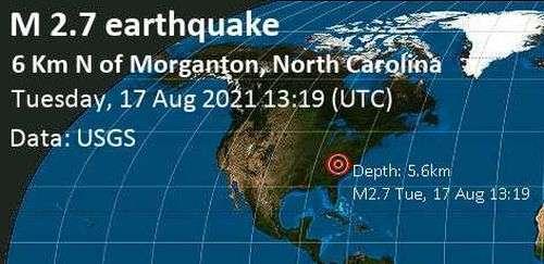 """""""Weak"""" Earthquake Reported In Burke County"""