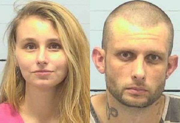 Woman & Man Arrested In Morganton On Meth Charges