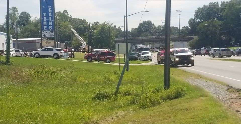 Explosions, Fire Reported At Hickory Propane Business