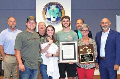 Alexander County Commissioners Meet, Family Of Late Board Member Recognized