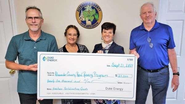 Alexander County Among Recipients Of Revitalization Grants